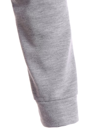 Hangover Cropped Hoodie - GRAY M Mobile
