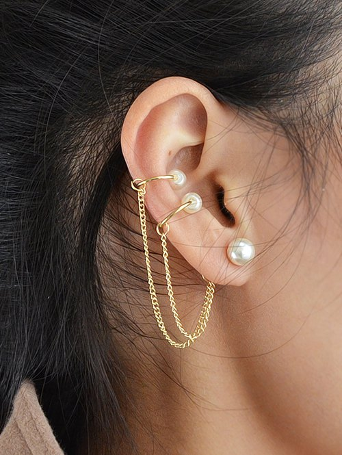 ONE PIECE Artificial Pearl Beads Earring