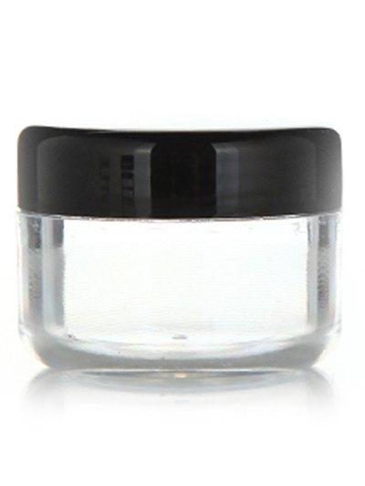 2 Pcs Travel Cream Jars Cosmetic Empty Jars
