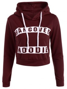 Hangover Cropped Hoodie