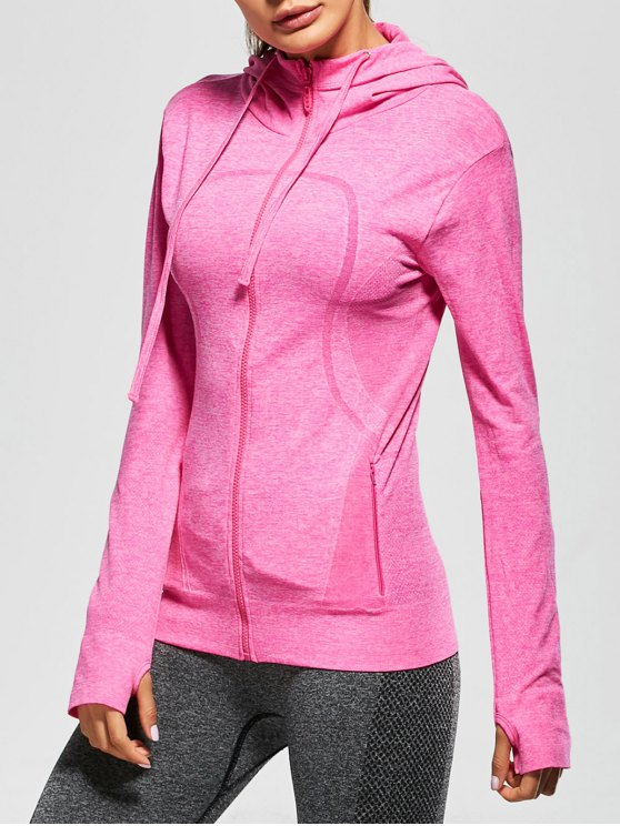 Active Zipper Sports Hooded Jacket - TUTTI FRUTTI M Mobile