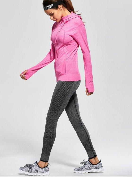 Active Zipper Sports Hooded Jacket - TUTTI FRUTTI M Mobile