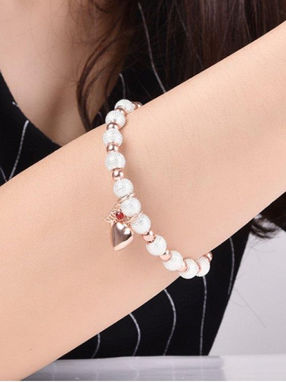 Palm Heart Beaded Bracelet -   Mobile