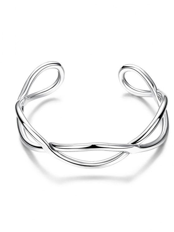Infinite Glod Plated Bracelet - SILVER  Mobile