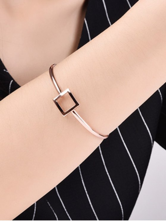 Square Hollowed Bracelet -   Mobile