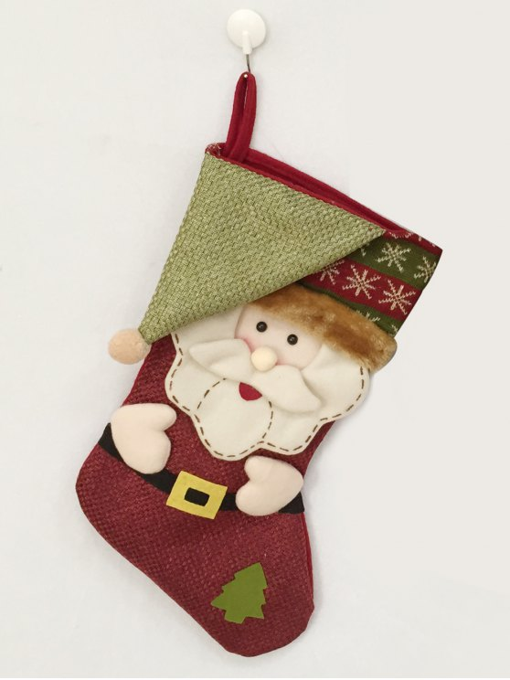 Christmas Santa Hanging Kids Candy Sock -   Mobile