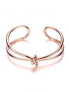 Infinite Knot Bracelet - Rose Gold