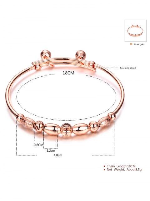 unique Beads Bell Polished Bracelet -   Mobile