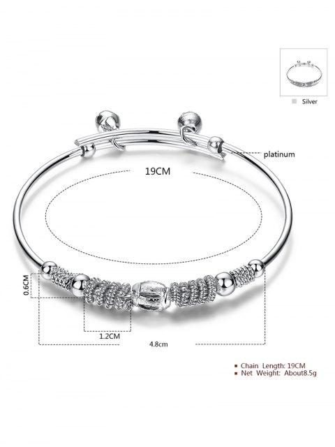 buy Bell Embellished Charm Bracelet -   Mobile