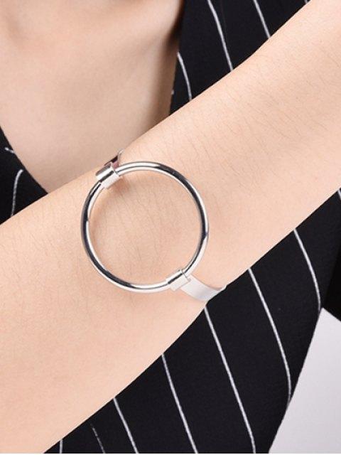 affordable Hollowed Gold Plated Bracelet -   Mobile