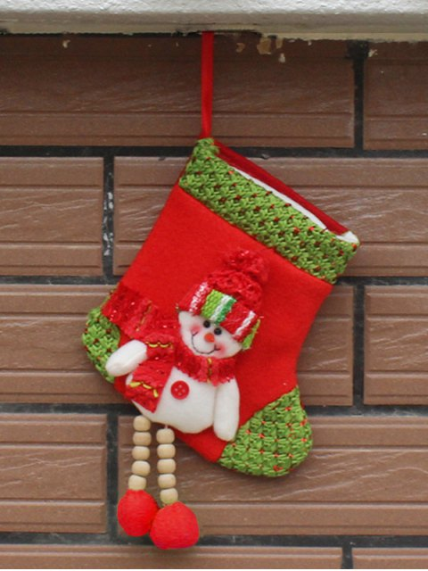 affordable Christmas Snowman Hanging Candy Present Sock -   Mobile