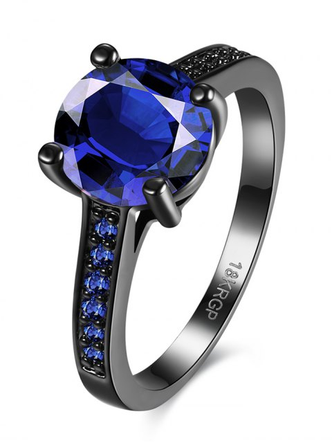 outfits Faux Gemstone Finger Ring -   Mobile