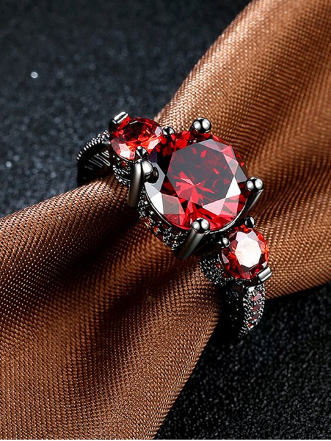 new Vintage Faux Gemstone Ring -   Mobile