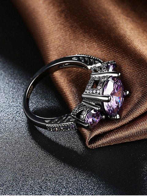 hot Vintage Faux Gemstone Ring -   Mobile