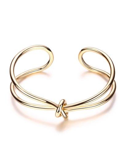Infinite Knot Bracelet - GOLDEN  Mobile