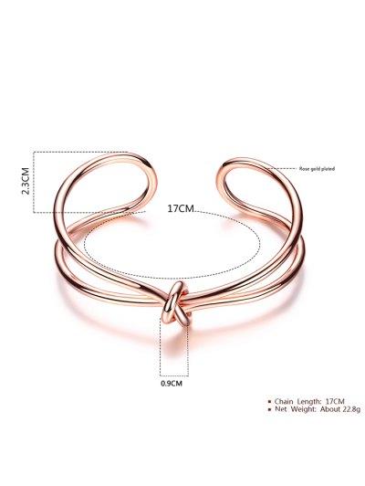 Infinite Knot Bracelet - ROSE GOLD  Mobile