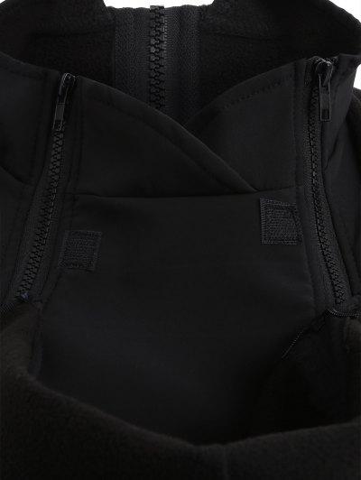 Baby Carrier Hooded Kangaroo Jacket - BLACK XL Mobile