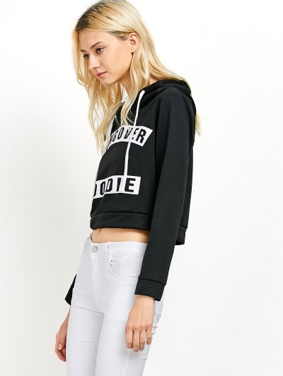 Hangover Cropped Hoodie - BLACK XL Mobile