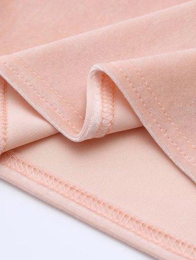 Camisole Velvet Top - PURPLE ONE SIZE Mobile