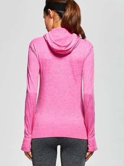 Active Zipper Sports Hooded Jacket - TUTTI FRUTTI S Mobile