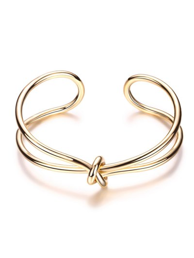 Infinite Knot Bracelet - GOLDEN  Mobile