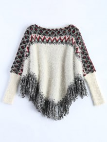 Fluffy Batwing Sweater