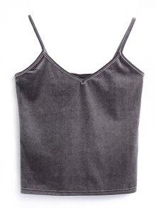 Camisole Velvet Top