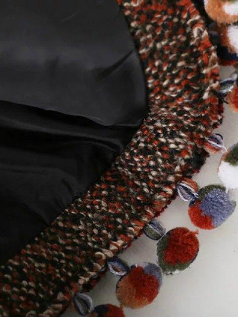 hot Pompom Tweed Jacket - MULTICOLOR S Mobile