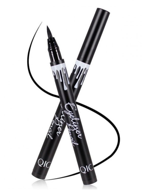 12 Pcs Waterproof Liquid Eyeliner Pencils - BLACK  Mobile