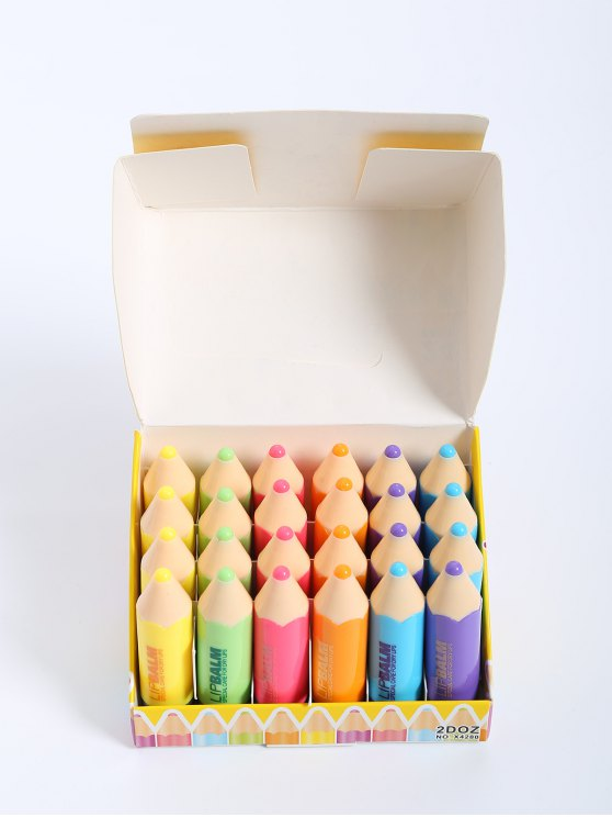 24 PC Crayon Bálsamo para Labios - Colormix