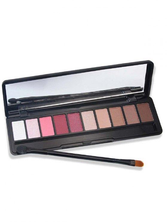 Shimmer Matte Powder Eyeshadow Kit - #06  Mobile