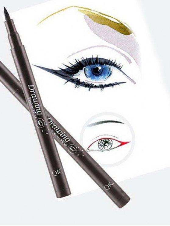 12 Pcs Smoothly Liquid Eyeliner Pencils -   Mobile