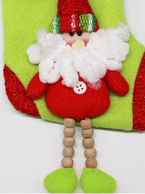 buy Christmas Santa Claus Hanging Candy Present Sock -   Mobile