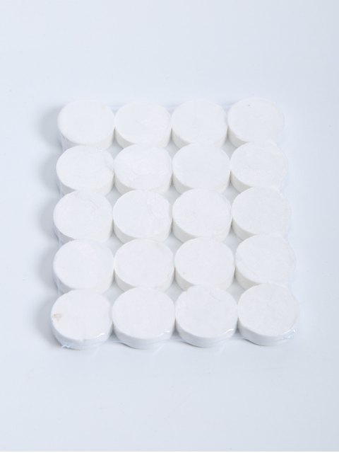 new 20 Pcs Compressed Facial Cotton Mask - WHITE  Mobile