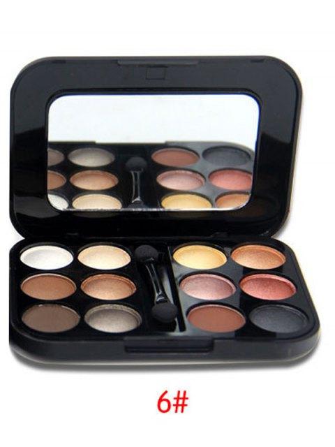 womens Shimmer Matte Eyeshadow Kit - #06  Mobile