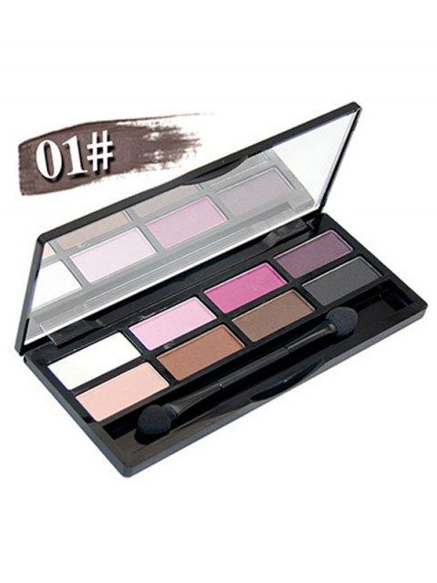 women Mineral Shimmer Matte Eyeshadow Kit - #01  Mobile