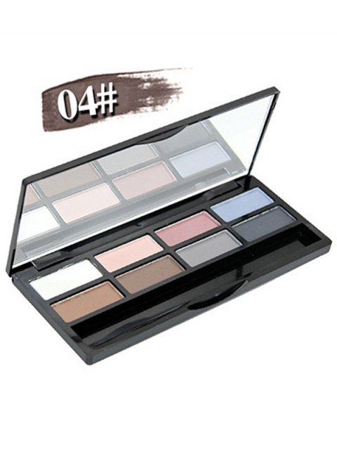 lady Mineral Shimmer Matte Eyeshadow Kit - #04  Mobile