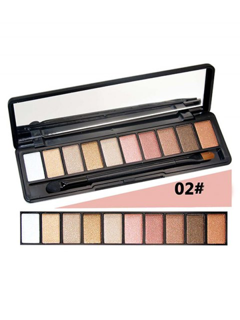 fancy Shimmer Matte Powder Eyeshadow Kit - #02  Mobile