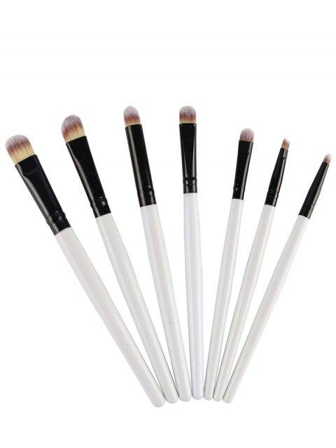 outfit 7 Pcs Eye Makeup Brushes Set - WHITE  Mobile