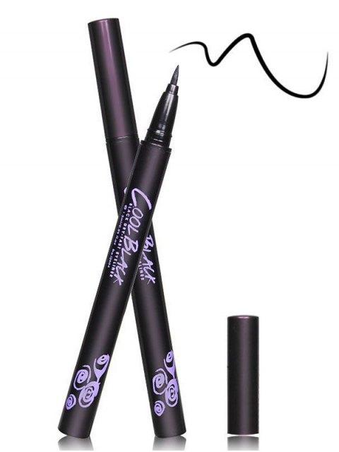 fancy 12 Pcs Liquid Eyeliner Pencils - BLACK  Mobile