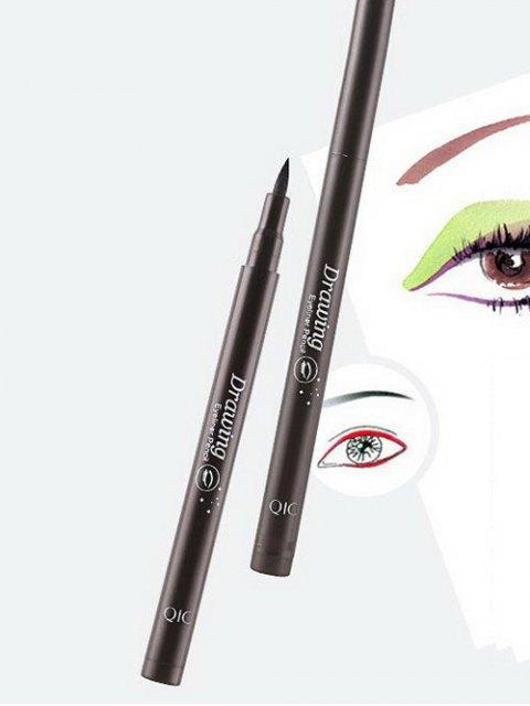 unique 12 Pcs Smoothly Liquid Eyeliner Pencils -   Mobile