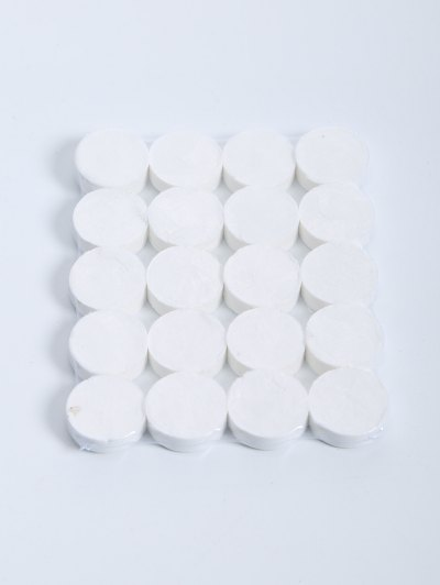 20 Pcs Compressed Facial Cotton Mask - WHITE  Mobile