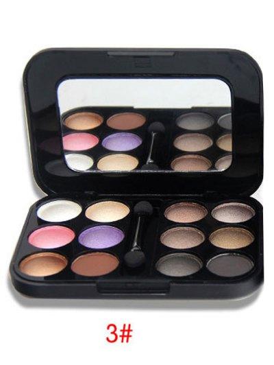 Shimmer Matte Eyeshadow Kit - #03  Mobile