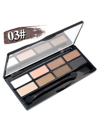 Mineral Shimmer Matte Eyeshadow Kit - #03  Mobile