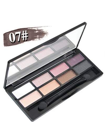 Mineral Shimmer Matte Eyeshadow Kit - #07  Mobile