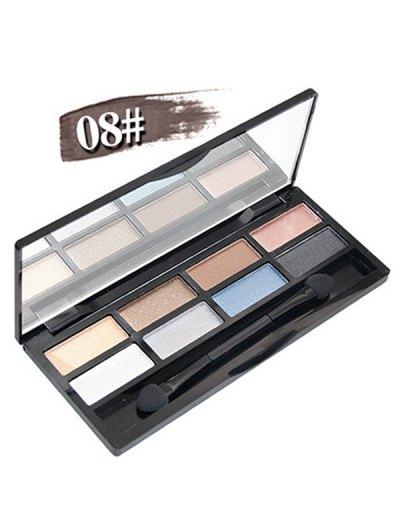 Mineral Shimmer Matte Eyeshadow Kit - #08  Mobile