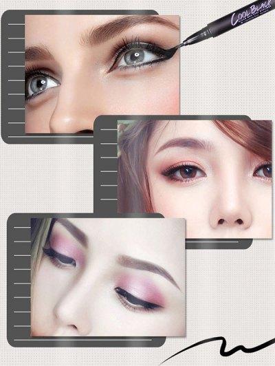 12 Pcs Liquid Eyeliner Pencils - BLACK  Mobile