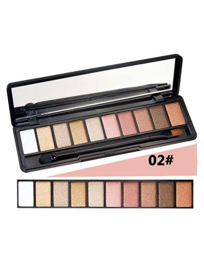 Shimmer Matte Powder Eyeshadow Kit - #02  Mobile