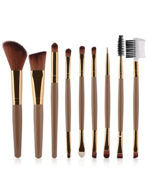 9 Pcs Makeup Brushes Set