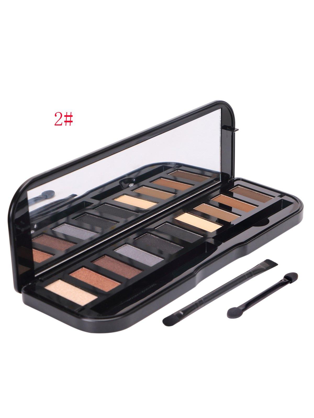 10 Colours Powder Eyeshadow Kit
